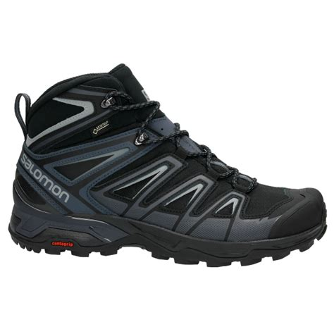 salomon  ultra mid  gtx mans outdoor shoes black