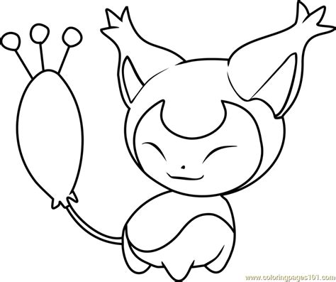 pokemon coloring pages skitty skitty pokemon coloring page free pok 233 mon coloring pages