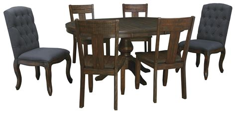 signature dining table and chairs signature design by trudell 7 oval dining