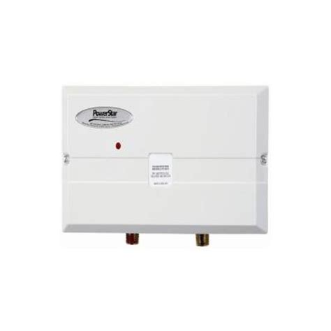 powerstar 3 4 kw 110 volt point of use tankless electric
