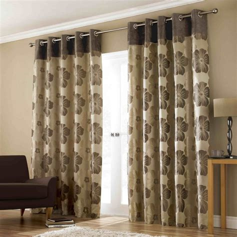 Brown Curtains With Design Inspiration Trend Curtain Designs 2015 4 Home Decor