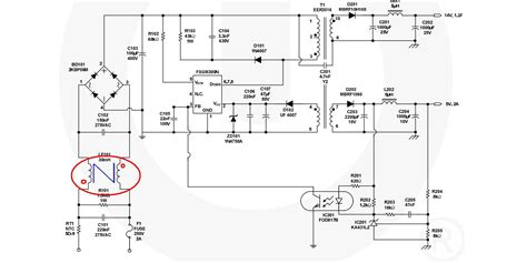 smps filter inductor power supply emi filter calculation in a smps