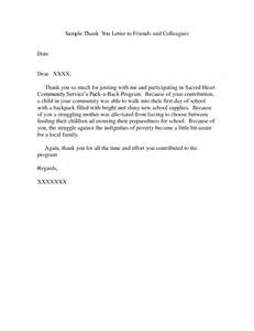 thank you letter template for children