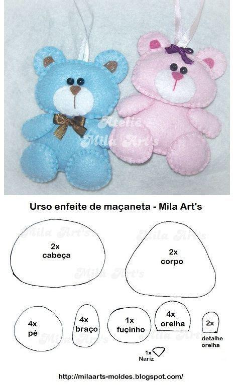 pattern bear pinterest teddy bears felt pattern crafts pinterest