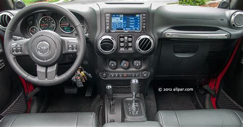 Dashboard Jeep Wrangler 2012 Jeep Wrangler Unlimited 4x4 Capable Suv With