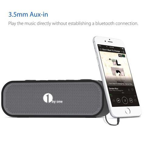 Speaker Portable Subwoofer Sb 05 1byone portable waterproof bluetooth speaker giveaway