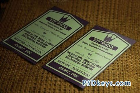 pass card template retro vip pass card template 52012 187 free