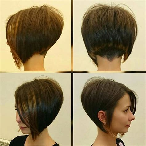 hairstyling bob mit sidecut short and sexy angelicagrechkina pointyourchindown