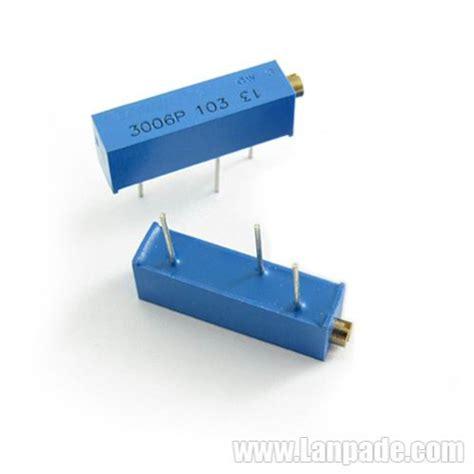 Ready 3296w 101 100 Ohm Multiturn Trimpot Trimmer Variable Resistor Vr 200k ohm 3006p 204 potentiometer trimmer multi turn variable resistors 100pcs lot lanpade