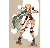 Character Design  Roller Derby Girl By MeoMai On DeviantArt