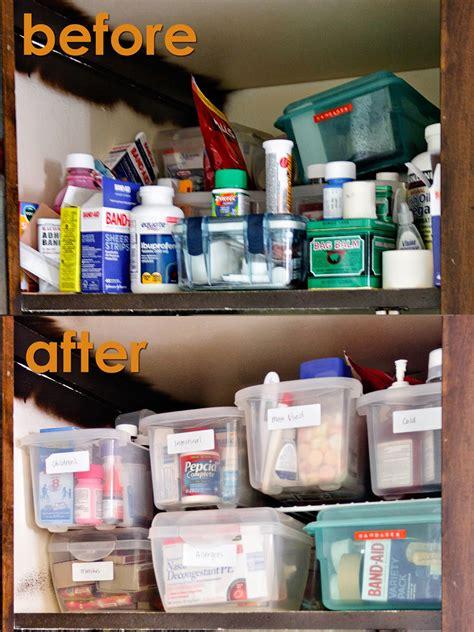 Medicine Cabinet Organization by Craftastical Medicine And Cleaning Cabinet Organization