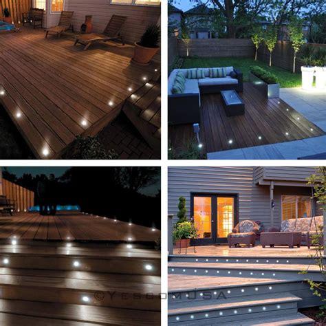 led yard light bulbs 15pcs led bulbs deck light garden stair yard mall outdoor