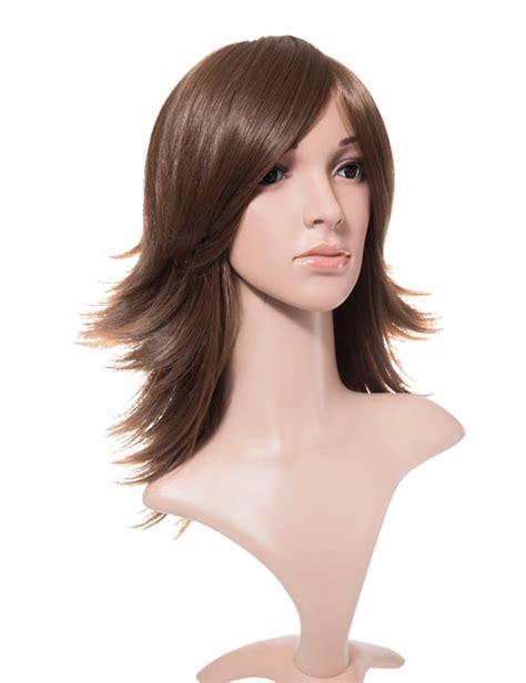 back of wigs breeze flick medium length full head wig ga001 koko hair