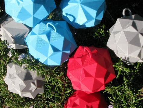 3d ornaments twelve gifts to 3d print for the holidays from