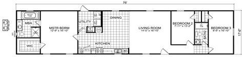 18 wide mobile home floor plans mobile home floor plans oklahoma