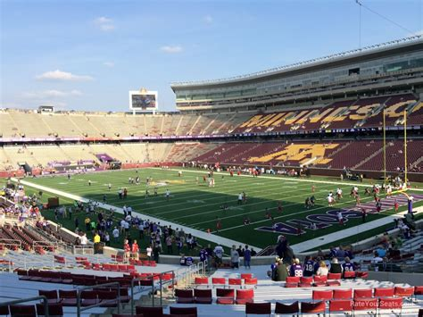 bank sections tcf bank stadium section 101 rateyourseats com