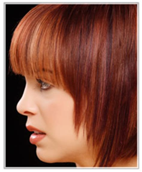 how yo get a blunt cut how to style blunt cut bangs thehairstyler com