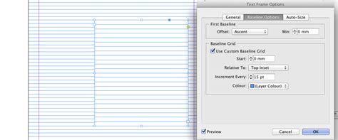 indesign tutorial baseline grid set an alternate baseline grid in an indesign document