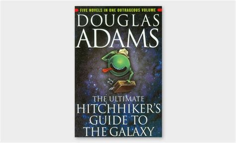douglas the hitchhiker trilogy 50 books every should read once in his cool