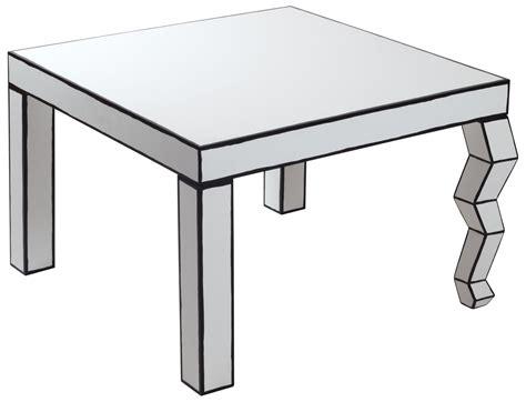 Black White Tabletop the trip coffee table black white by seletti