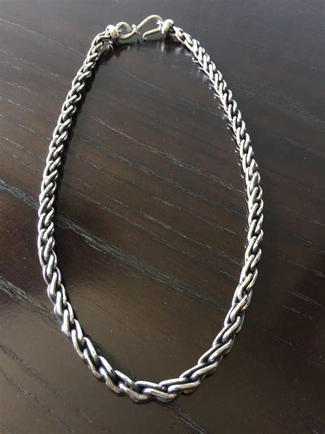 cadena gruesa de plata ley 925 mod torzal liso para - Cadena De Plata Torzal Para Hombre