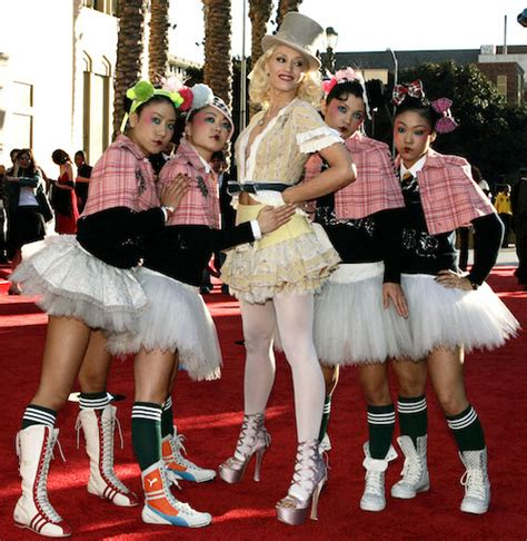 gwen stefani harajuku girls dlisted be very afraid page 1