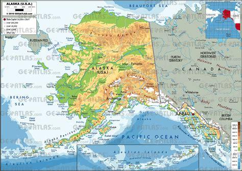 us map with alaska map alaska map3
