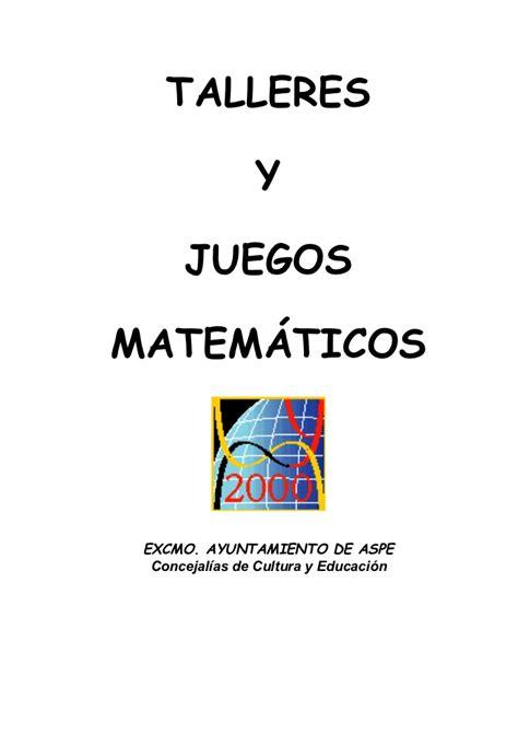 juegos matemticos y de juegos matematicos para primaria y secundaria
