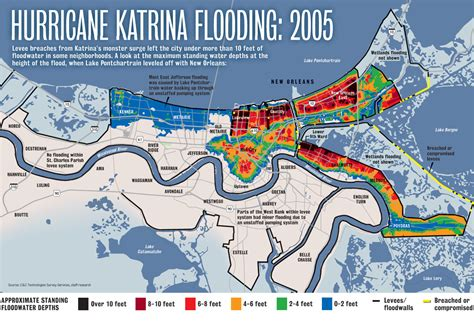 map of new orleans damage northwest carrollton new orleans flood maps and