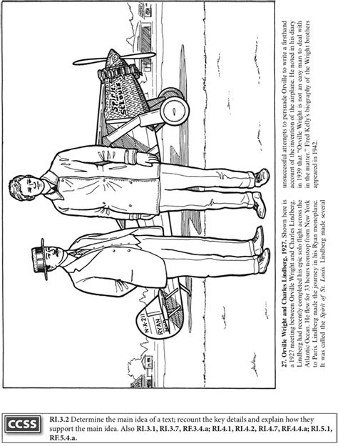 free coloring pages of the wright brothers