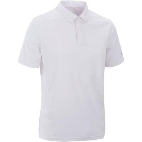 Kaos Polo Big Size Nike Ou 2xl 3xl 4xl 100 Polo Shirt White Decathlon