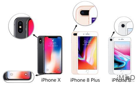 เปร ยบเท ยบข อม ลสเปค iphone x iphone 8 8 plus จ ดสำค ญต างก นย งไง