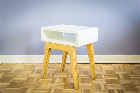 Fabriquer Table De Nuit by Comment Fabriquer Une Table De Chevet Scandinave Ep13