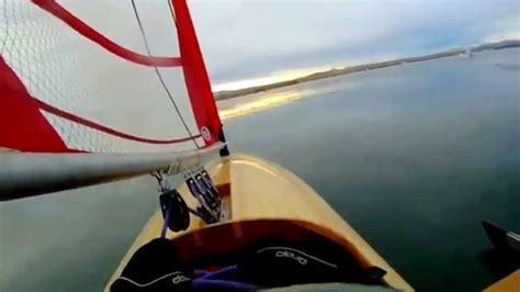 skeeter boats videos mini skeeter iceboat first sail youtube