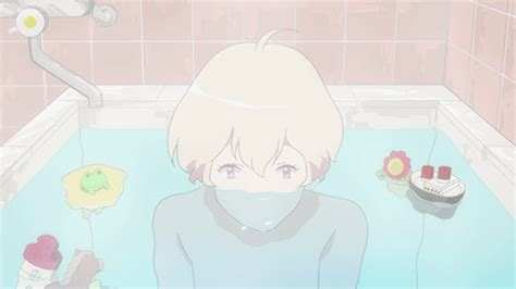In Bathroom Anime by Gif Anime Kawaii Bath Bathtub Anime Gif Haru Loop Kawaii