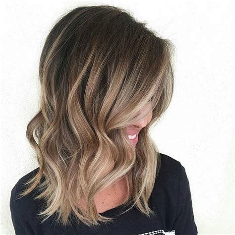 balayage on medium length hair 60 balayage hair color ideas with blonde brown caramel
