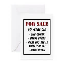 for sale 60 years greeting card by thehotbutton