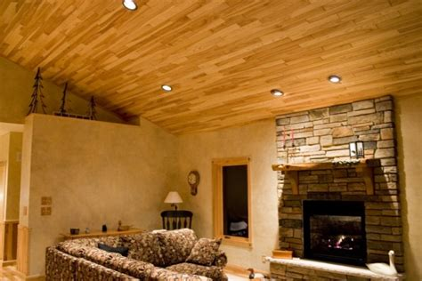 Paneled Ceiling by Wood Paneled Ceiling Diy Basement Wall Finishing Panels