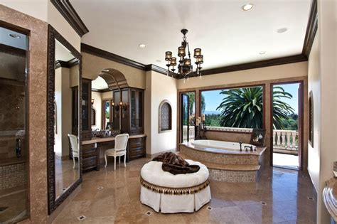 Mediterranean Home Interior Design by Nellie Gail Mediterranean Bathroom Orange County