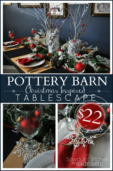 dollar tree desk l remodelaholic pottery barn holiday tablescape for dollar