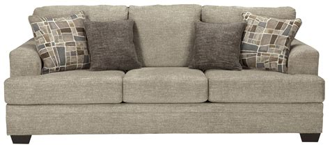 benchcraft sofa benchcraft barrish 4850138 contemporary sofa with flared