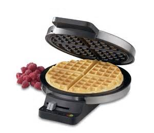 Toaster Grill Waffle Maker Cuisinart Round Classic Waffle Maker