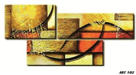 cuadros con relieve abstractos cuadros tripticos abstractos modernos con relieve y