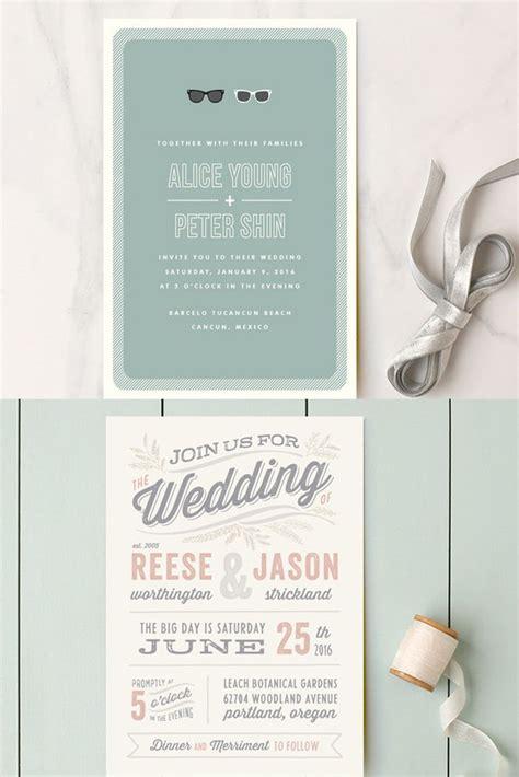 Witzige Hochzeitseinladungen by Wedding Invitation Wording That Won T Make You Barf