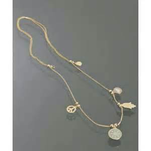Alex and ani gold 4 charm expanding necklace thisnext
