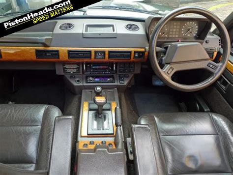 vintage range rover interior range rover lse you know you want to pistonheads