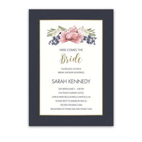 Wedding Invitation Trends 2018 by Floral Wedding Shower Invitations 2018 Wedding Trends