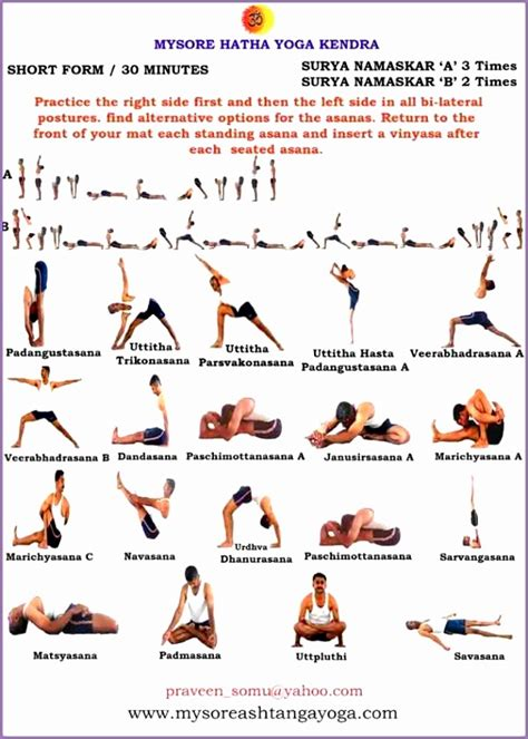 ashtanga poses chart 4 ashtanga poses chart work out picture media