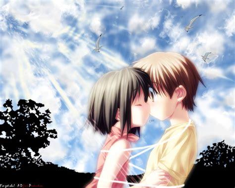 wallpaper cute kiss cute anime kiss anime manga wallpaper