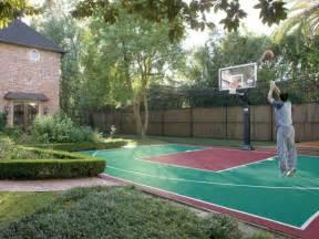 Pics photos outdoor basketball courts backyard